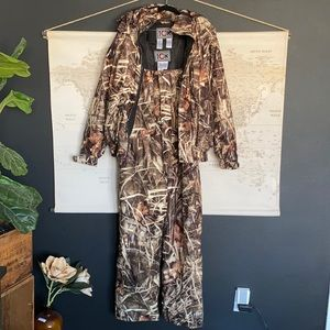 10x hunting overalls and coat set camouflage